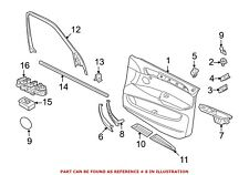 For BMW Genuine Door Trim Sill Plate Insert Front 51478058609
