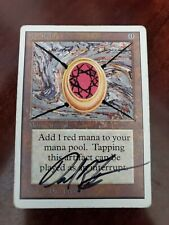 Mox Ruby Unlimited HP Artist Signed and Altered Power 9