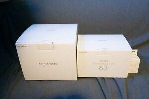 Fujifilm GFX 50S Camera + GF63mm F2.8 R WR Lens + Extra Battery