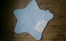 Little Dreams Blue Boys Girls Unisex Star Shaped Nursery Rug Mat 70cm NEW Space