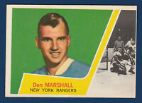 DON MARSHALL 63-64 TOPPS 1963-64 NO 59 EXMINT 6076