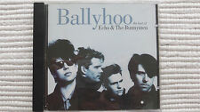 Echo & The Bunnymen BallyHoo(Rare/N Mint) 1997 UK PROMO STICKER CD NEVER PLAYED