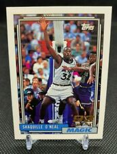New listing 1993 TOPPS SHAQUILLE O'NEAL ORLANDO MAGIC 92 DRAFT PICK HOF ROOKIE CARD. #362