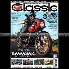 MOTO REVUE CLASSIC N°70 KAWASAKI W1 NORTON 750 COMMANDO JULIE WOOD JEAN GRATON