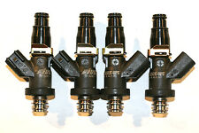 4 - HONDA H22 B20 D16 D15 F22A Fuel Injectors Fiveo BLACK-OPS 625hp/turbo/e85