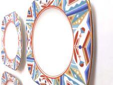 Art Deco English bone china teaplates