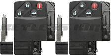 2x Keyless Entry Remote Car Key Fob Shell Case Cover for Mazda RX-8 MX-5 Miata