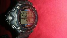 Casio Registro di memoria Pro Diver Watch DEP-610 ** RARO **