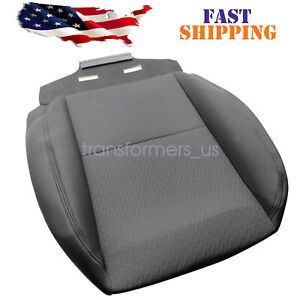 For 2007-2014 Chevy Silverado 1500 2500HD 3500HD Driver Bottom Cloth Seat Cover