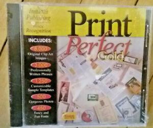 New~Print Perfect Gold PC - Desktop Publishing