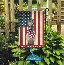 [Custom name] Belgian Shepherd Dog Polyester Flag Outdoor Indoor Banner