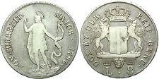Genova (1637-1797) - Dogi Biennali III Fase - 8 Lire 1796 Ag g.33 - Mir309/4
