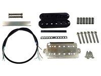 Humbucker pickup build kit - black/white/cream/red/blue/pink