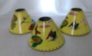 Table Light Lamp MetalShade Moonlighting Interior flowers decoupage Home Decor