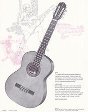 VINTAGE AD SHEET #2173 - 1971 EPIPHONE GUITAR - MODEL 6514 w/803 DURABILT CASE
