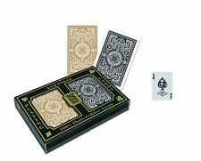 NEW KEM Arrow Black and Gold Bridge Size Standard Index Playing Cards