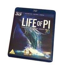 Life Of Pi (2D Blu-ray, 2013 Region Free) DOES NOT CONTAIN 3D DISC