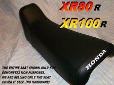 XR80 XR100 1985-1999 seat cover for Honda XR80R XR100R XR 80 black XR 100 051C