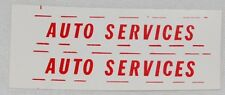 """#46 Dinky Stickers for Bedford TK Crash Truck #434 """"Auto Services"""""""