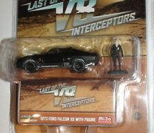 1973 FORD FALCON XB WITH FIGURE MAD MAX V8 INTERCEPTORS DIECAST SCALE 1/64