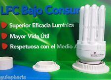 Bombilla Bajo Consumo E27 24w=125w LUZ CALIDA 2700K,tamaño Mini 6U, CFL