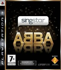 SINGSTAR ABBA    PS3 USATO  SOLO DISCO