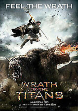 Wrath of the Titans (3D Blu-ray, 2012, 2-Disc Set)