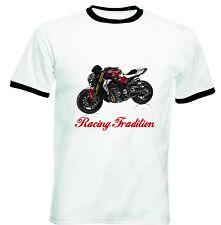MV AGUSTA BRUTALE 2014 ispirazione RACING-T-shirt Cotone-Tutte le taglie in magazzino