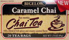 Bigelow Caramel Chai Black Tea (20 Bag/Box) 2 Pack (40 Bags)