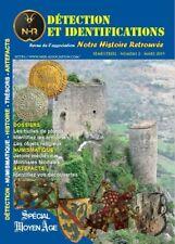 Revue N°2 NHR Notre Histoire Retrouvée - Moyen Age - détection