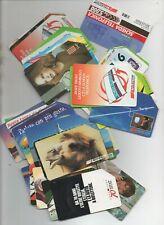 stock composto da 100 schede telefoniche di vario valore - 44 euro