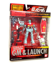 "2004 mobile suit gundam rgm 79 lancement 5"" action figure by Bandai anime manga"