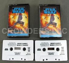 Star Wars X-Wing Book 2: Wedge's Gamble 2 Cassette Audio Book Michael Stackpole