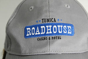Tunica Roadhouse Hat Cap Gray Baseball Cap Hat