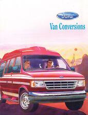 1992 Ford Conversion Van Econoline Club Wagon Original Sales Brochure
