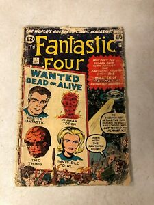 FANTASTIC FOUR #7 EARLY ISSUE PLANET X THING HUMAN TORCH KIRBY 1962