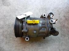 CITROEN C5 AIR CON COMPRESSOR 2.0LTR PETROL AUTO PART # 9656572480 03/05-08/08