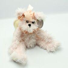 Bearington Bear Pink Angel Jointed Plush Teddy Bear
