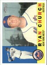2009 Topps Heritage #180 Ryan Church New York Mets