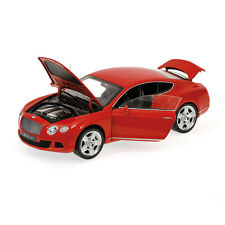 BENTLEY CONTINENTAL  GT ROUGE   2011  MINICHAMPS    1/18