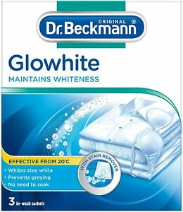 Dr. Beckmann Glowhite with Stain Remover, 3 Sachets