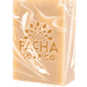 Brand NEW Pacha Soap Company Coconut Lemon GF Soap 4 Oz-organic-fresh scent!