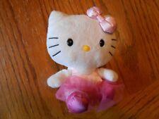Hello Kitty TY Beanie Babies 2012 Kitty - EUC