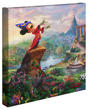 Thomas Kinkade Studios Fantasia Wrap 14 x 14 Gallery Wrapped Canvas Disney