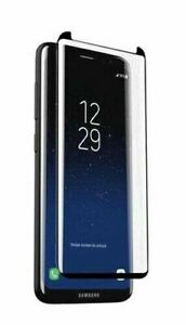Zagg InvisibleSHIELD Curve Glass Elite Screen Protection for Galaxy S8 - Black