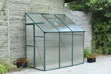 New Suncozy 1.3*1.9m Promotion Lean-To Aluminium Polycarbonate Garden Greenhouse