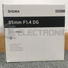 Nuevo Sigma 85mm F1.4 DG HSM Art Lens For Canon