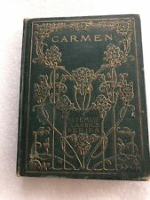 Carmen by Prosper Me'rime'e  An Altemus Classics Series