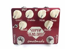 cmatmods Super Signa Drive Overdrive & Boost Guitar Effect Pedal