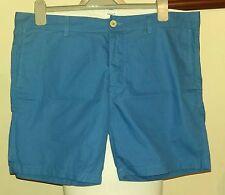 """Filippa K M. Luz Samuel Pantalones Cortos Azul tamaño de Reino Unido 36""""W"""